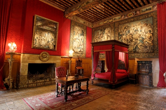 Комната короля Людовика XIII, château de Brissac