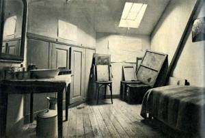 Vincent van Gogh room, end of XIX°, Auvers-sur-Oise. ཨོཾ་མ་ཎི་པ་དྨེ་ཧྰུྃ།